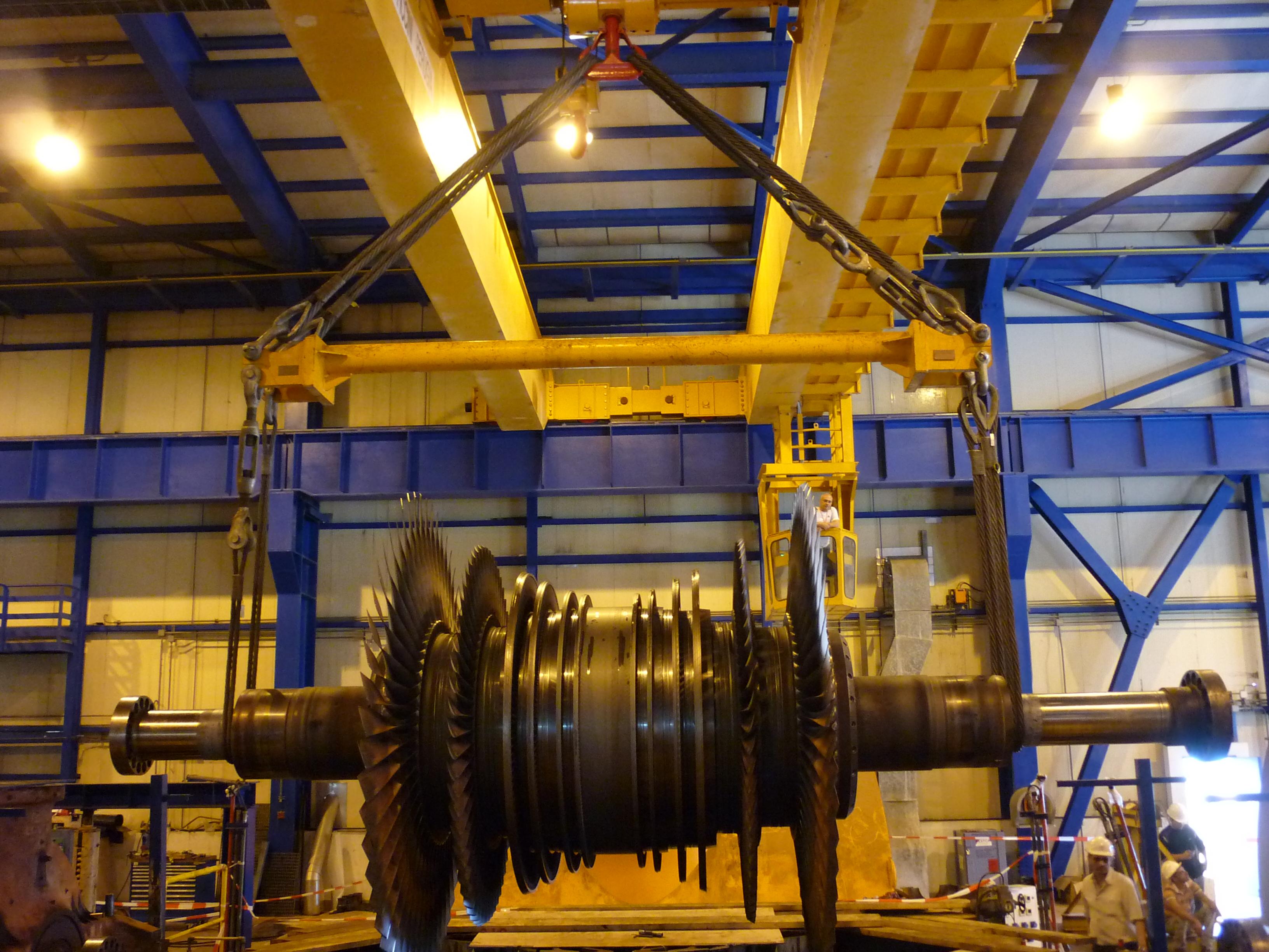 Major Overhaul of Steam Turbine in Zahrani CCPP.